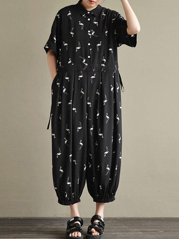 Flemish Flamingo Jumpsuit