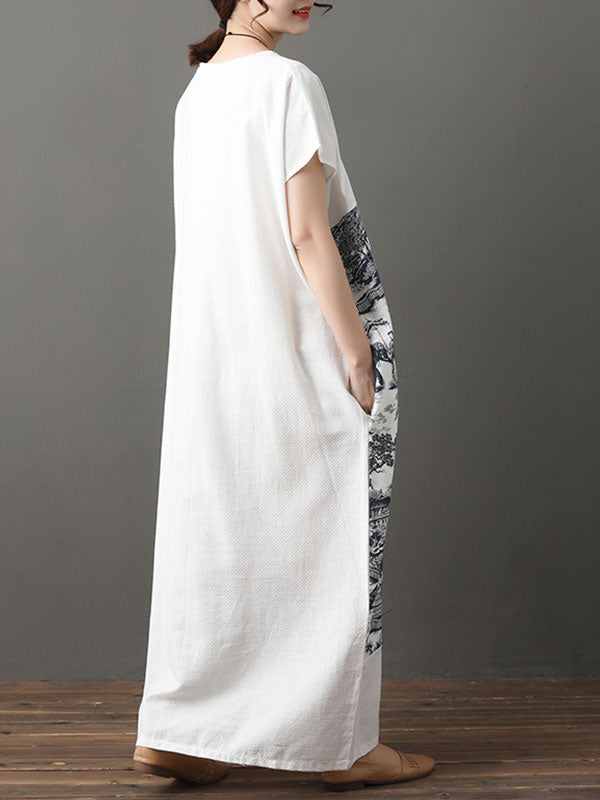 Fabulous Fit White Maxi Dress