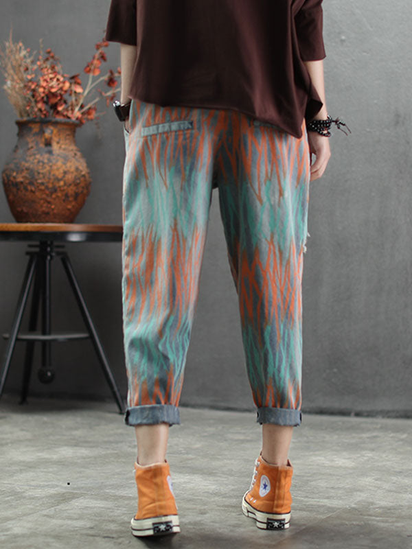 Faraway Places Cotton Pants