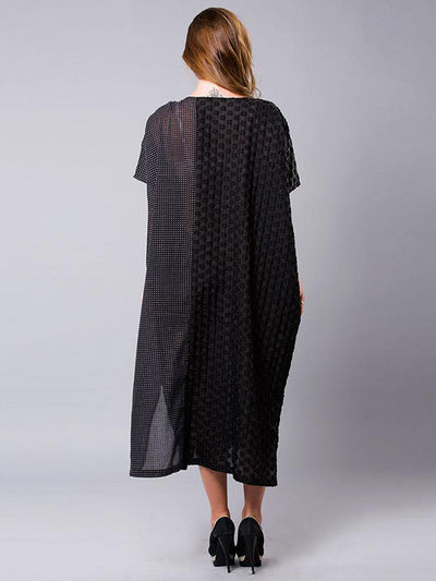 Polka Dot Parade Kaftan Dress