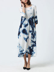 Touch Of Inks A-Line Dress
