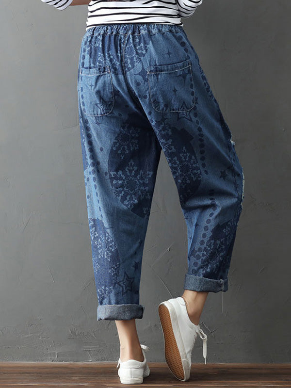 Resounding Wow Cotton Pants