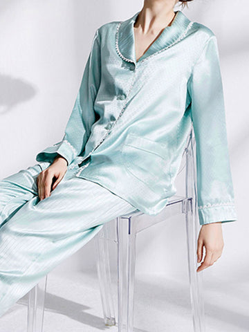 Powder Blue Night Suit