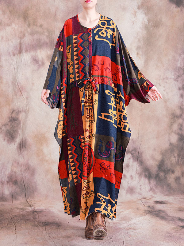 Comfortable Collab Kaftan Dress