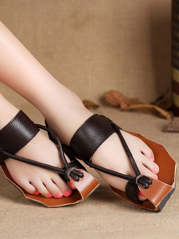 Tipsy Leather Sandals(Pre-sale)