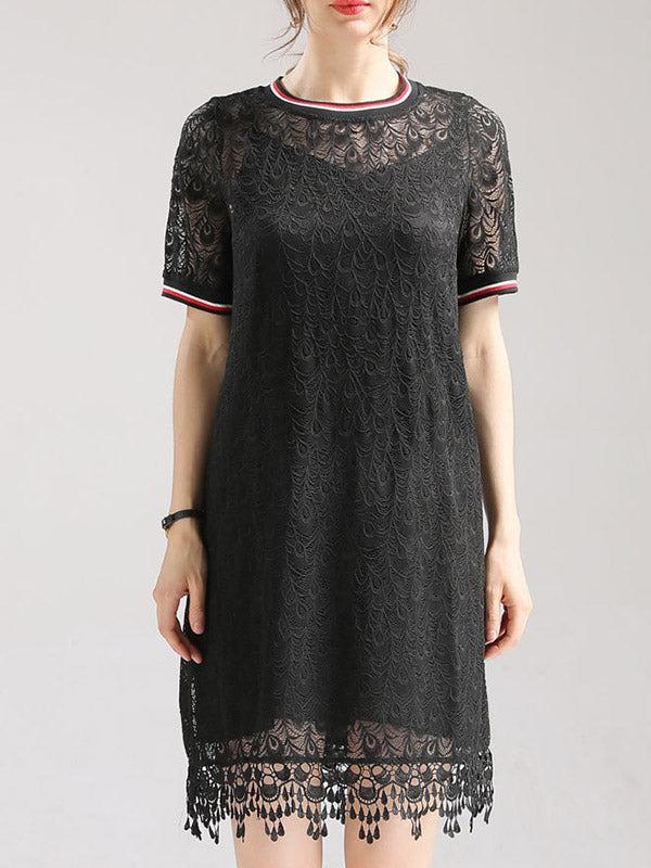 Britney Lace Midi Dress