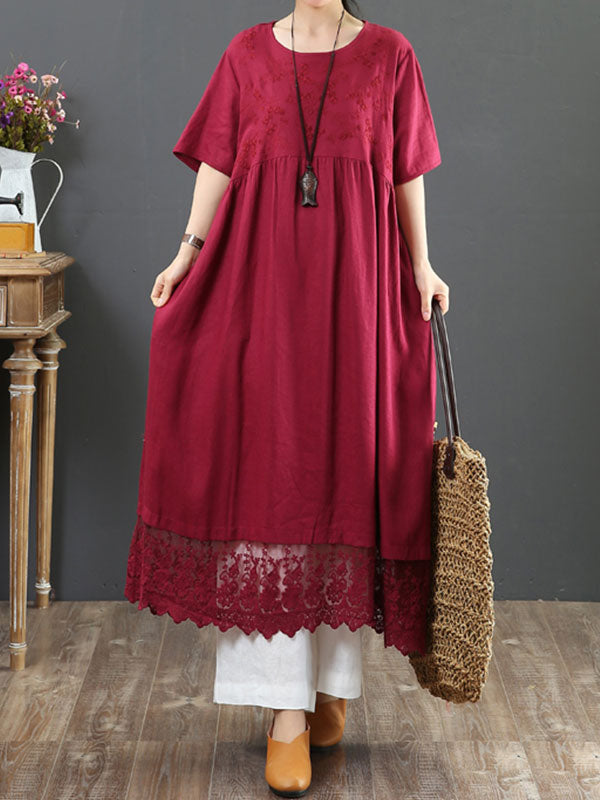 Stated Appreciation Smock Dress