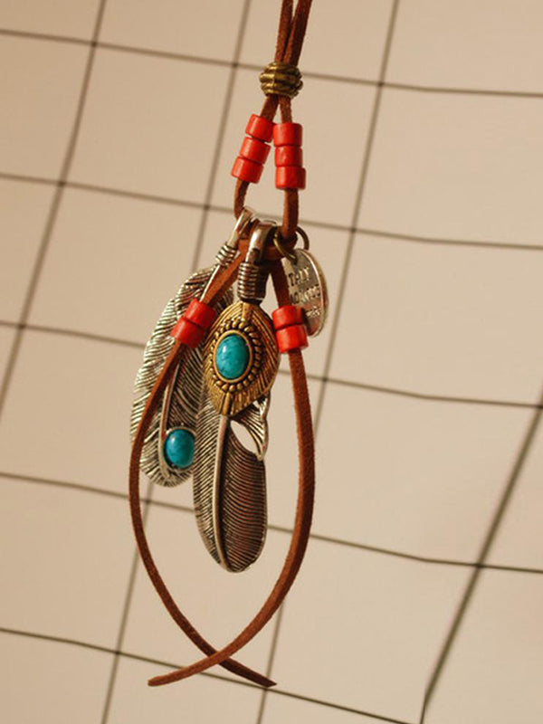 Turquoise Featherlite Necklace