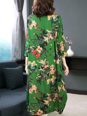 Daffodils Midi Dress