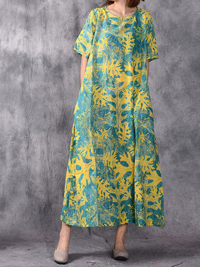 Paradise Escape A-Line Dress