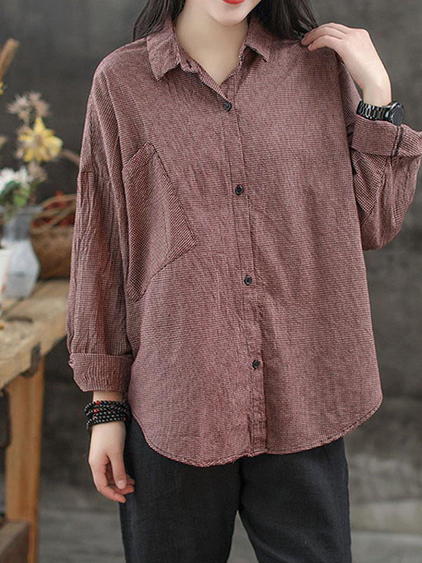 Homespun Vintage Oversized Shirt