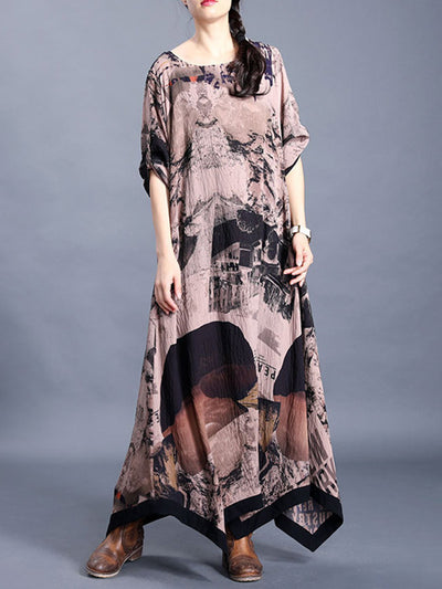 One In A Million Silk Maxi Dress