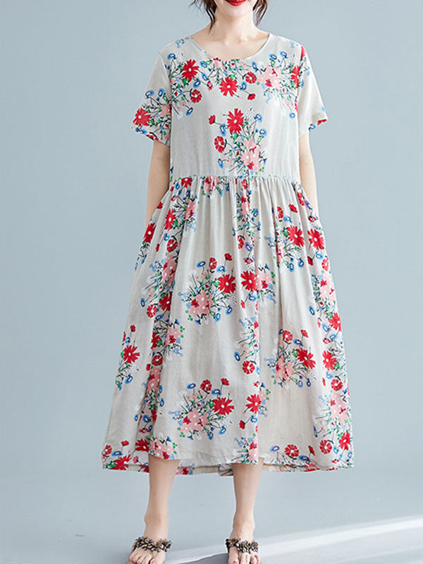 Outdoor Allure Smock Dress
