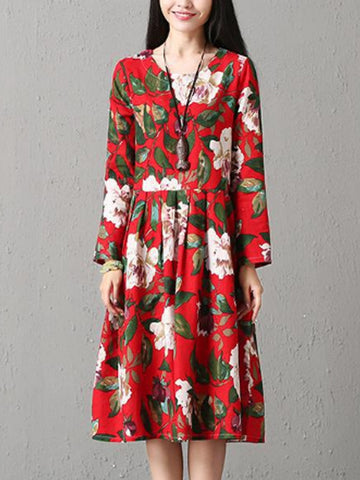 Monsoon Floral Smock Dress