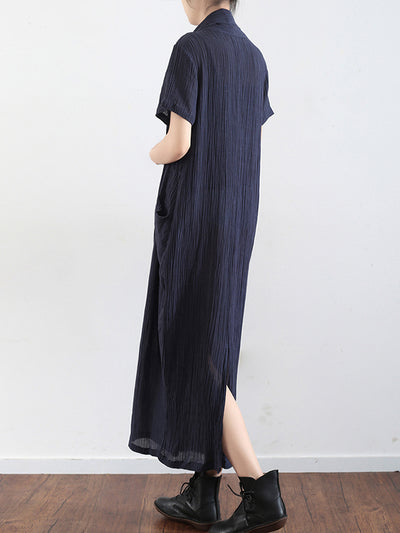 Embrace The Beauty Linen Wrapped Midi Dress
