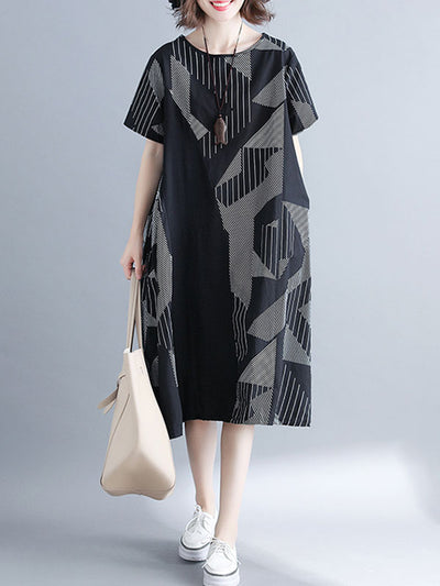 Sweeping Entrance A-Line Dress