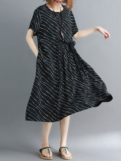 Trustworthy Wonder Cotton A-Line Dress