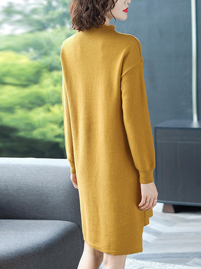 Girl's Face Stitching Sweater Top