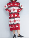 Dreamy Deer Sweater Dress