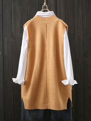 Motel Datista Sleeveless Cardigan Sweater