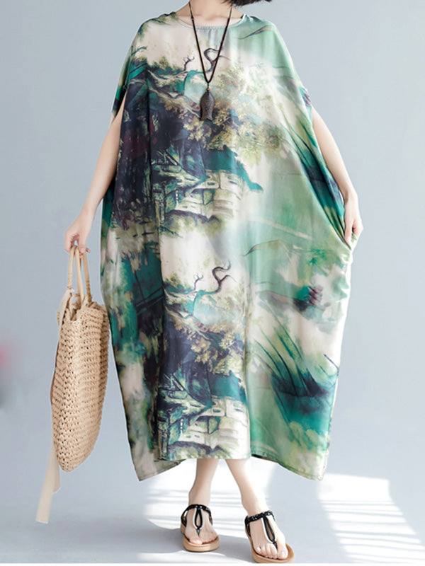 Anchor Happy Kaftan Dress