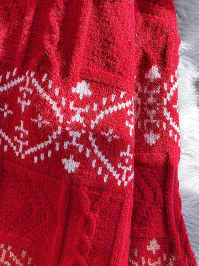 Sequin Vacation Trip Christmas Sweater