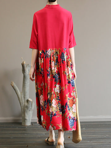 Wonderful Floral Smock Dress