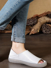 Cassy Urban Vintage Leather Slip On
