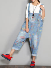 Yes Feelings Overall Dungarees