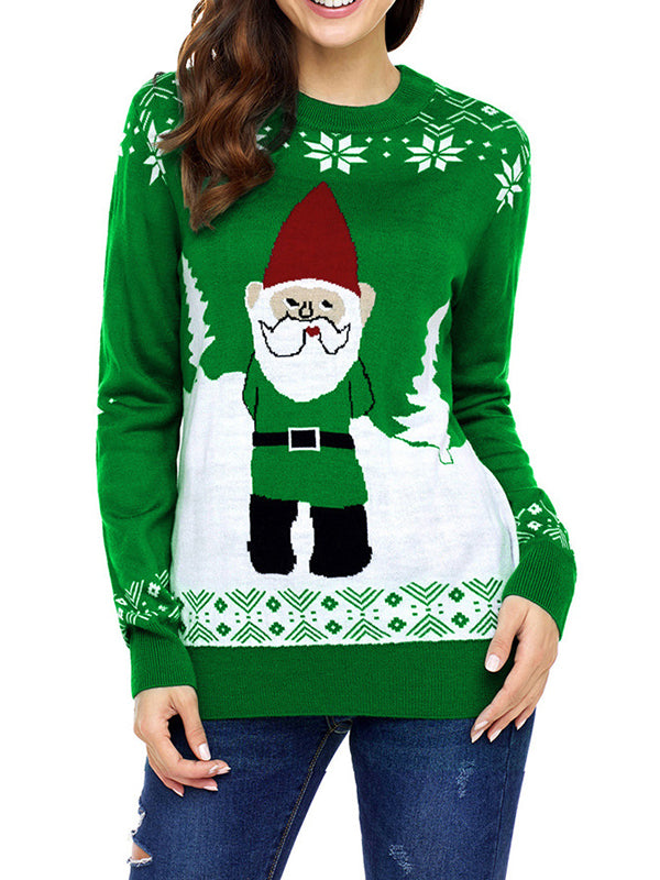 Knitted Santa Sweater