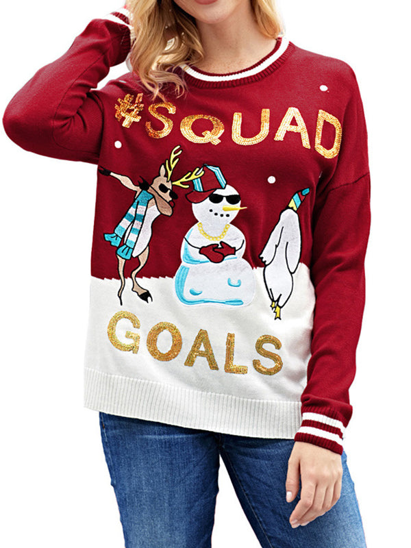 Squad Goals Sweater