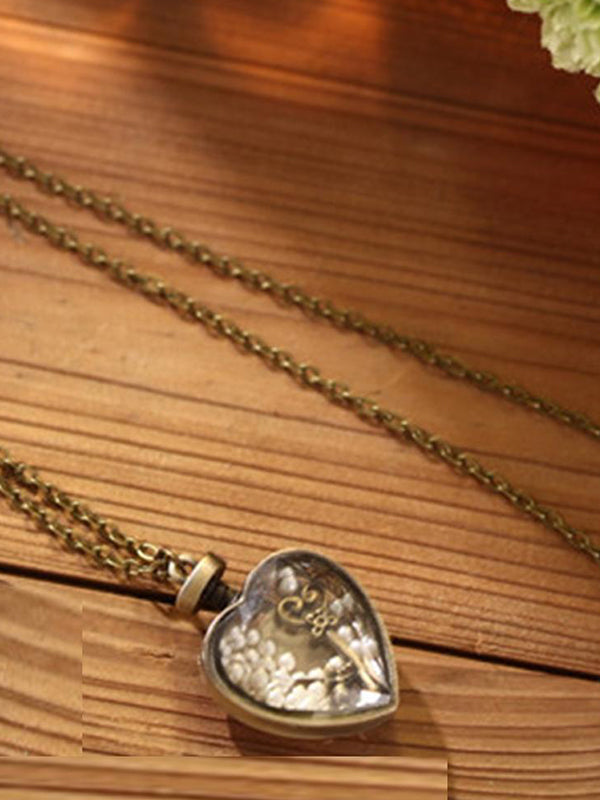 Heart lock Chain Necklace