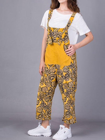 Ines Floral Overall Dungarees