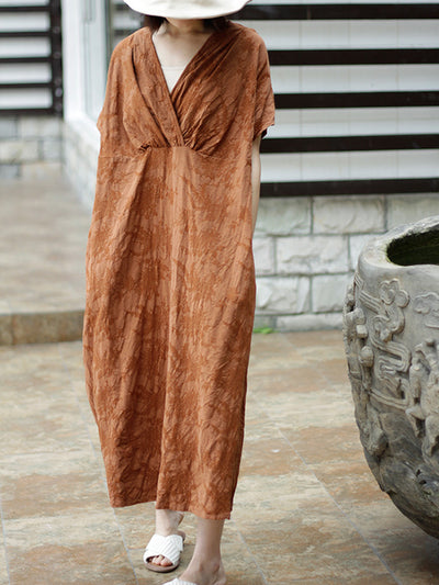 Mixie Drape Smock Dress