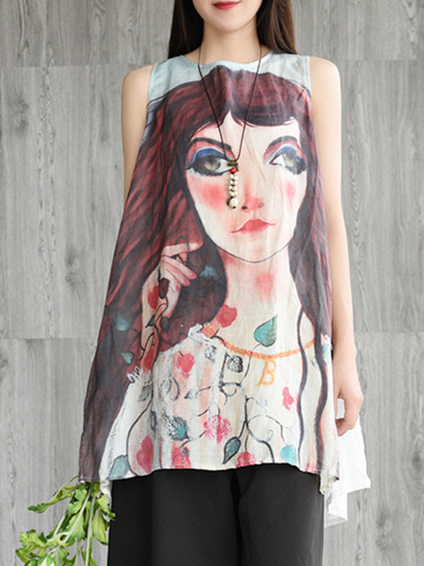 Talented Young Sleeveless Top