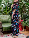 Alicia Angle Shivering Maxi Dress