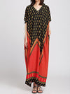 Tribal Art Maxi Dress