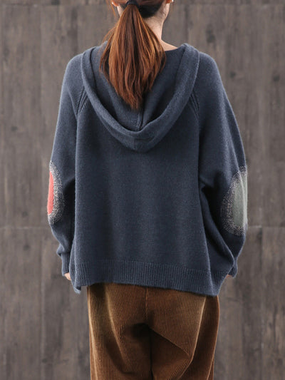 Single-Pocket Pullover knitted Hoodies