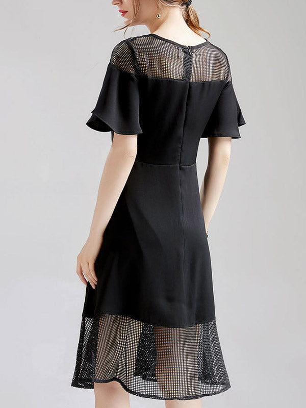 Spree Lace Midi Dress