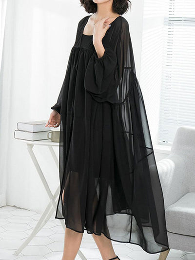 Ready To Flayer Smock Dress