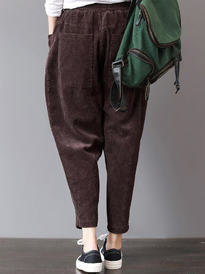 Dark Casual Pants