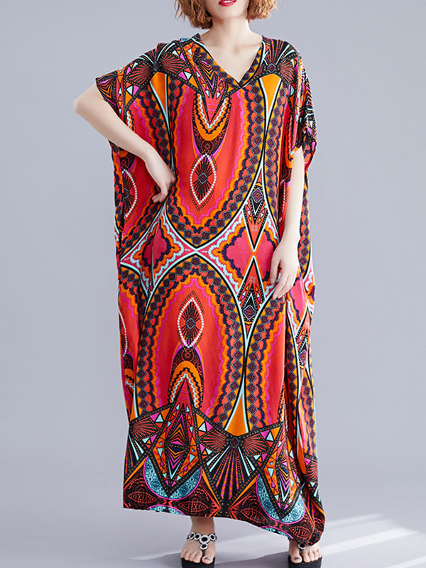 Use That Tone Kaftan Maxi Dress