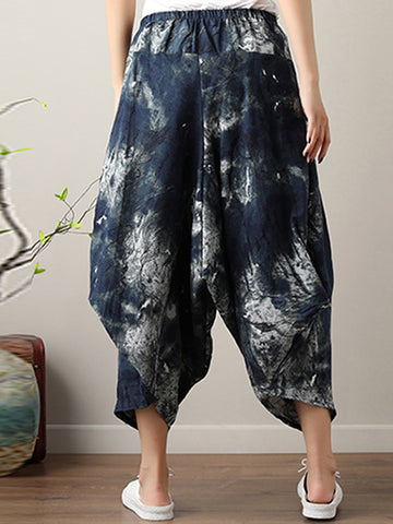 Mosaic Night Harem Pants