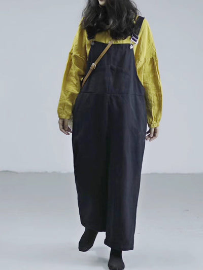 Cara Cotton Literary Overall Dungarees