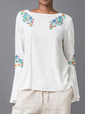 Floral Risk Tunic Top