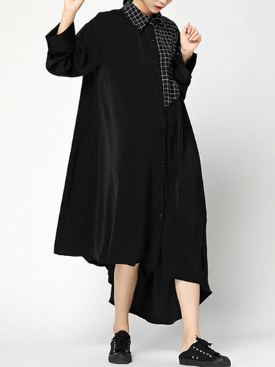 Annabeth Irregular Shirt Dress