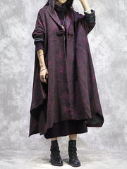 Next Chapter Woolen Dark Red Coat