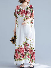 Dupenny Fabulous Kaftan Maxi Dress