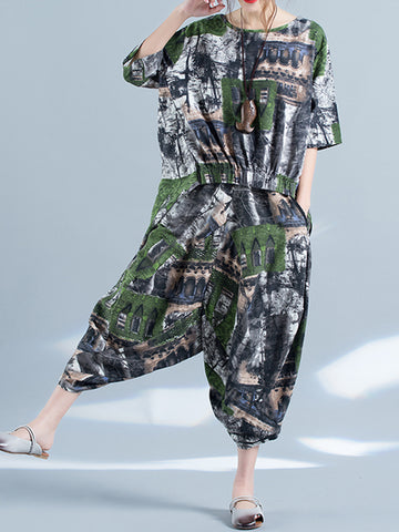 Lush Fort Pajama Dress