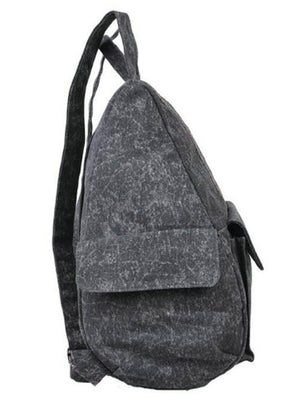 Ethnic Style Canvas Backpack